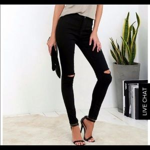 American Bazi high rise jeans